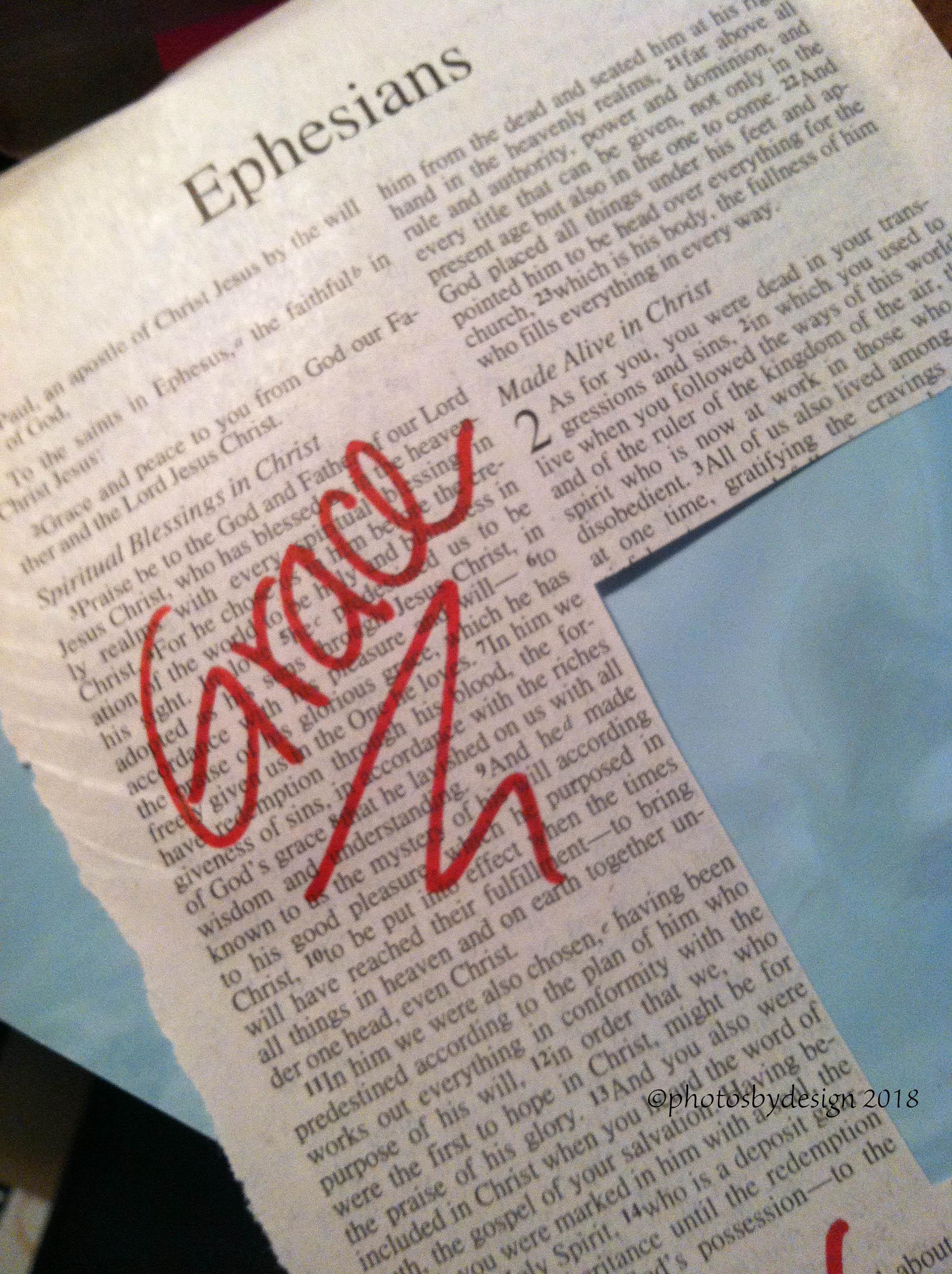 4904 Grace. Ephesians