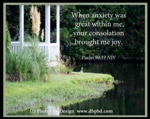 Psalm 94:19 niv